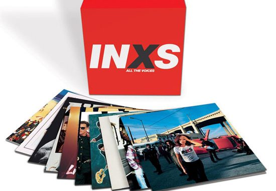 INXS 'ALL THE VOICES' 10 LP BOXSET OUT SEPTEMBER 1ST 2
