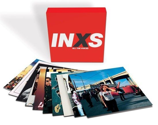 INXS 'ALL THE VOICES' 10 LP BOXSET OUT SEPTEMBER 1ST
