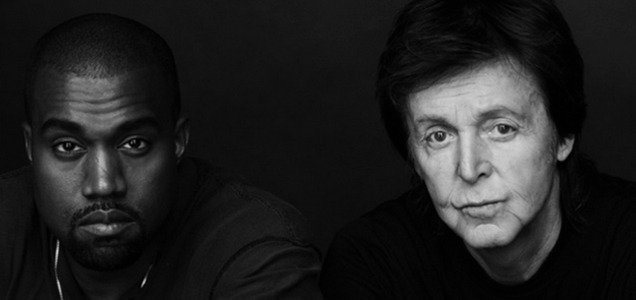 KANYE WEST AND PAUL MCCARTNEY RELEASE NEW COLLABORATION 'ONLY ONE' - listen