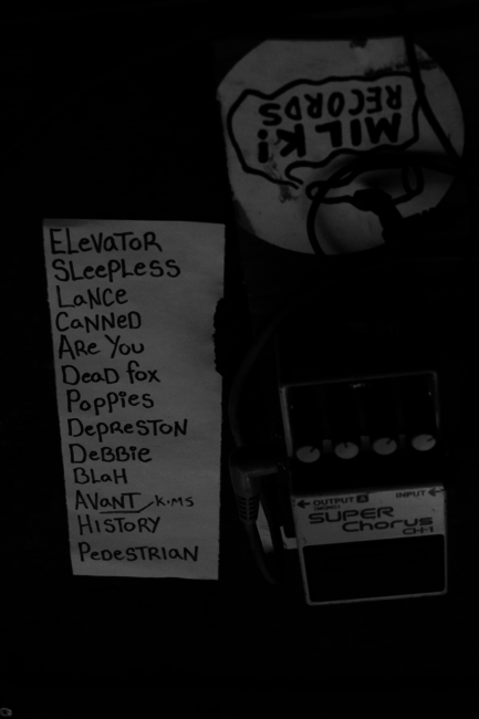 """""""The Set List (less the choice of encore!)"""""""