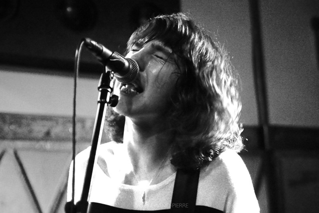 Van McCann sings his heart out at the band's first ever performance in America, New York City on June 3, 2014