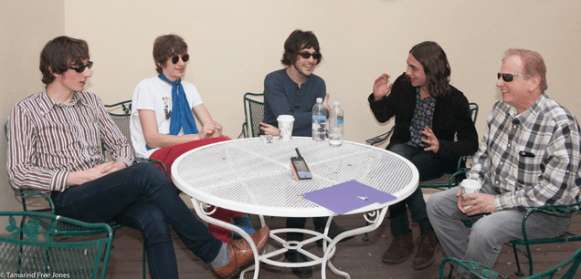 Hidden Charms and Shel Talmy sit down for an interview