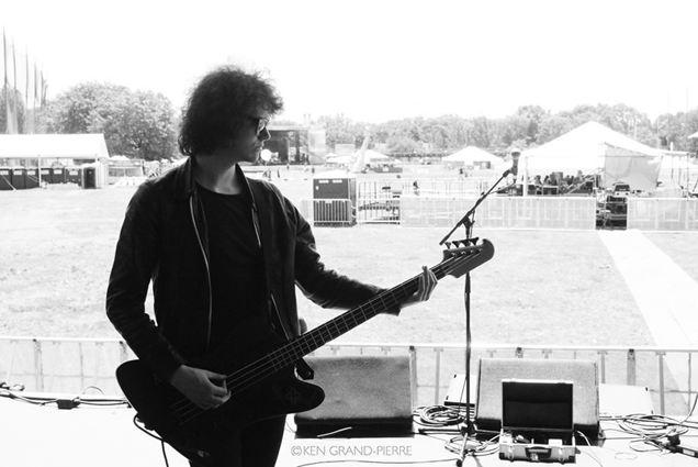 Benji pre-show at Governors Ball 2014