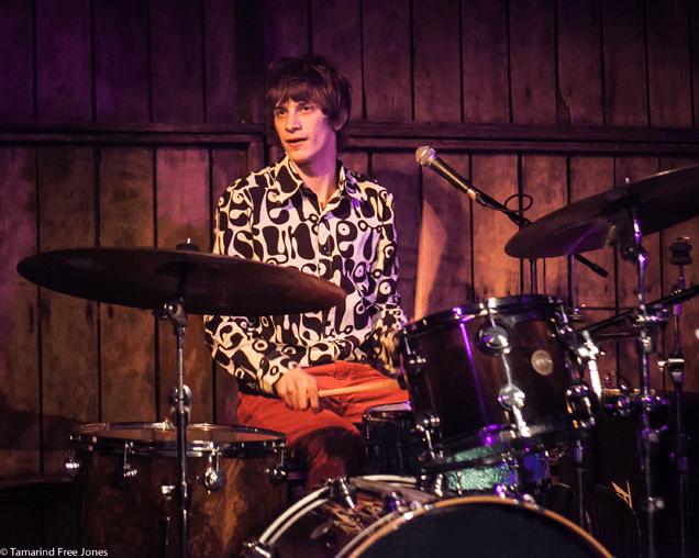 Oscar Robertson on drums