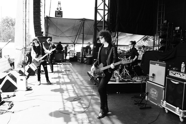 The new band in town, Governors Ball, New York 2014