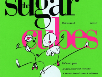 THE SUGARCUBES - to reissue 'Life's Too Good' album in green vinyl