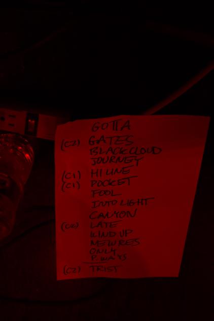 """""""Set List"""""""