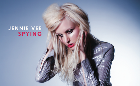 """JENNIE VEE confirms debut album """"SPYING"""" to be released October 15th"""