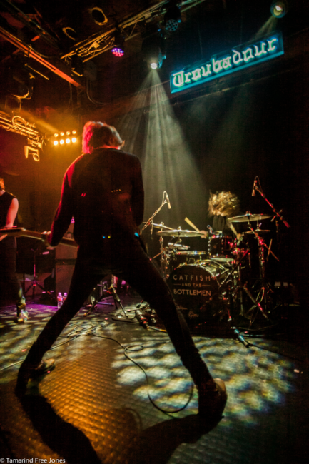 Catfish and the Bottlemen played The Troubadour in LA in February photo © Tamarind Free Jones