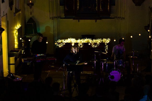 The Half Earth EP Launch at St Pancras Old Curch 29th October 2015