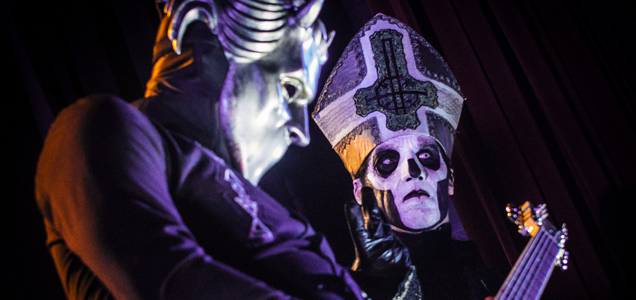 LIVE REVIEW: GHOST with PURSON at THE WARFIELD SAN FRANCISCO 10/23/15 8
