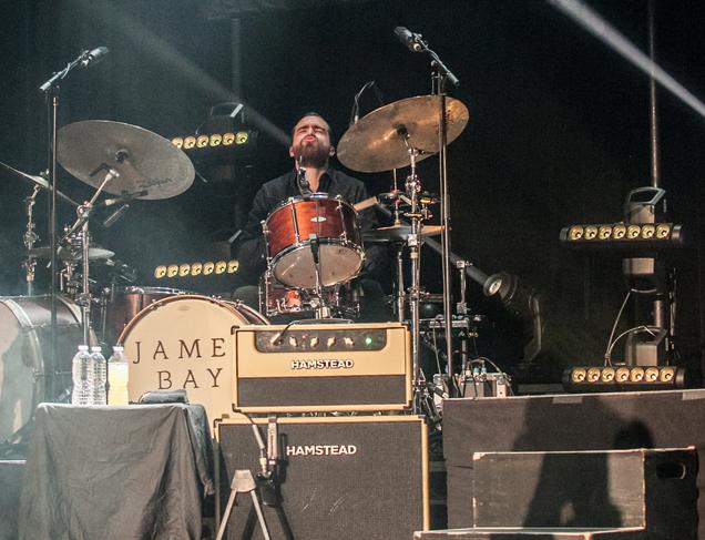 Gerry Morgan on drums