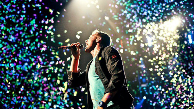 Watch video for new COLDPLAY Single 'HYMN FOR THE WEEKEND'