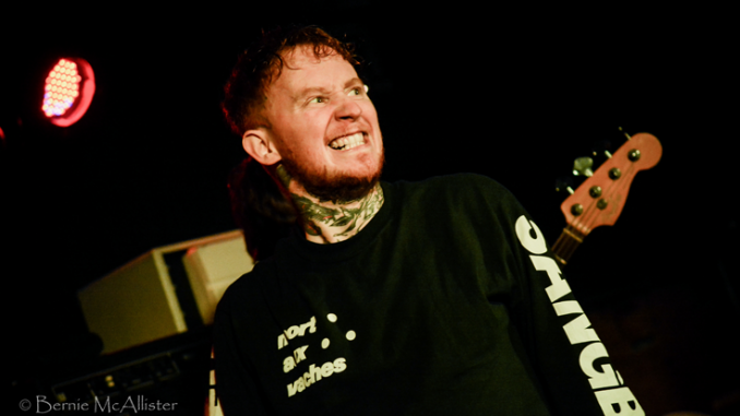 IN FOCUS// FRANK CARTER & THE RATTLESNAKES - Voodoo, Belfast 1