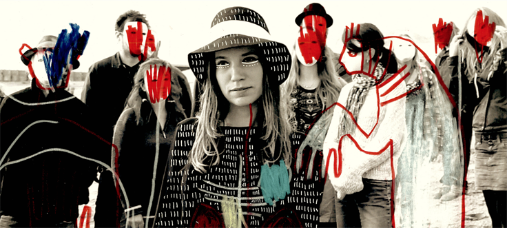 Dorset based multi-instrumentalist GRIS-DE-LIN releases her first EP 'THE KICK' on April 22nd