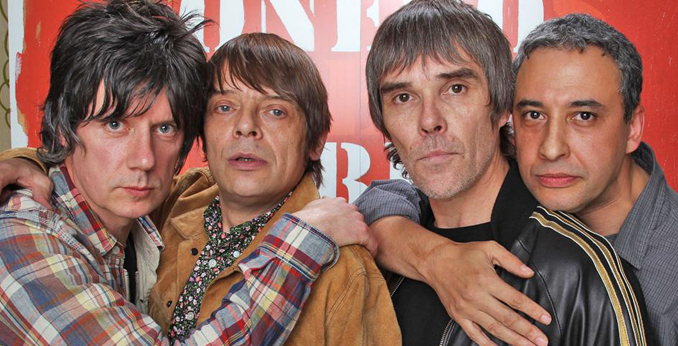 IAN BROWN confirms - THE STONE ROSES are recording 'GLORIOUS' new music 2