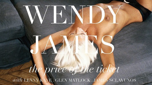THE PRICE OF THE TICKET – WENDY JAMES