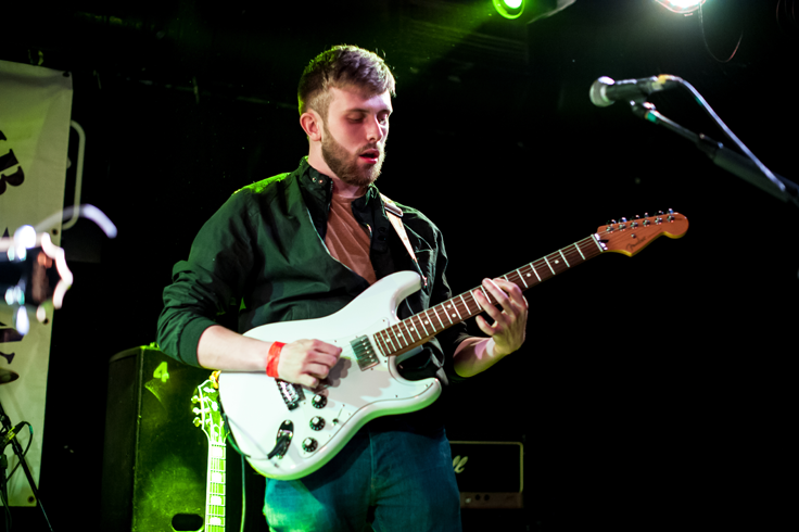Rob Jones, lead guitarist photo © Sarah Lockwood Photography