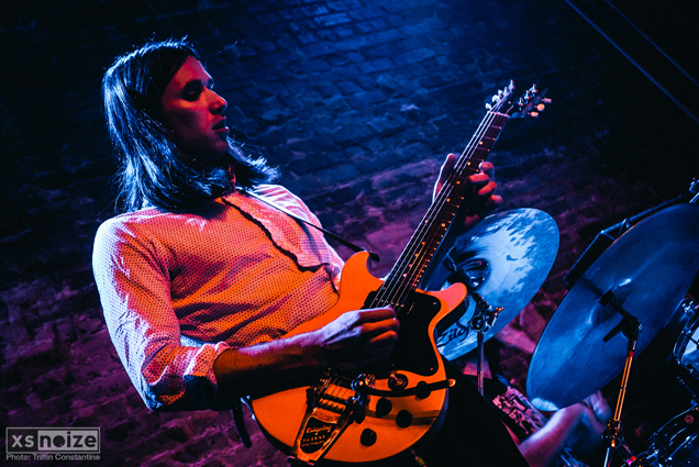 Multi-instrumentalist Richie Follin on keys and guitar