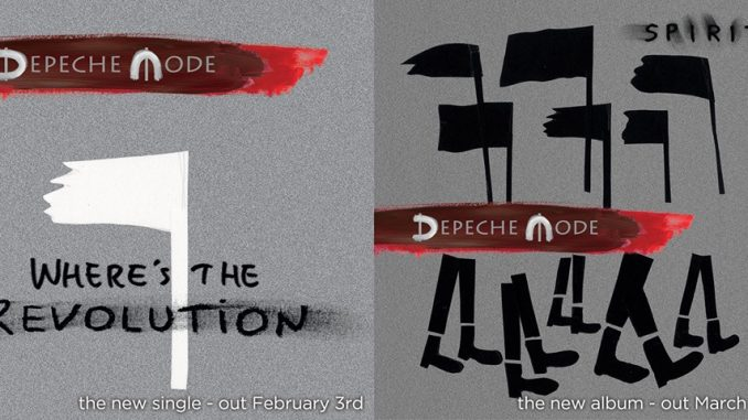 "Depeche Mode To Release New Single ""Where's The Revolution"" on February 3rd 2"