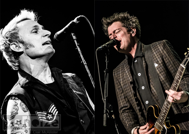 Green Day w/support from The Interrupters, Leeds First Direct Arena, 05/02/17