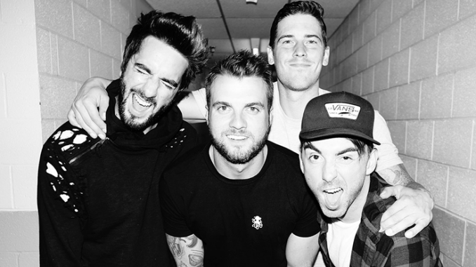 American Rockers ALL TIME LOW - To Play Irish Dates This Weekend
