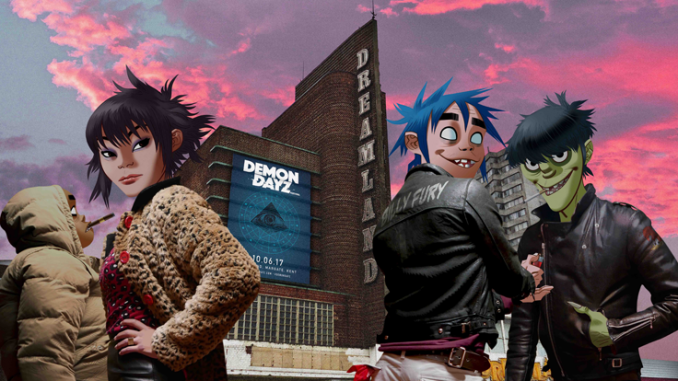 Gorillaz Announce the Launch of Demon Dayz – A One-Day Festival Extravaganza Curated by Damon Albarn and Jamie Hewlett 1