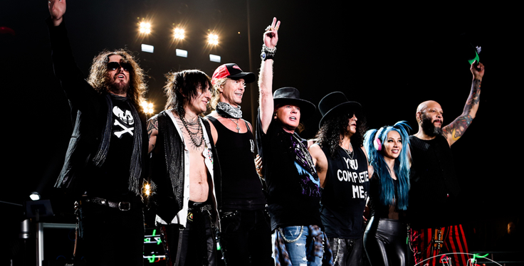 GUNS N' ROSES Confirm Full Line Up for SLANE CASTLE