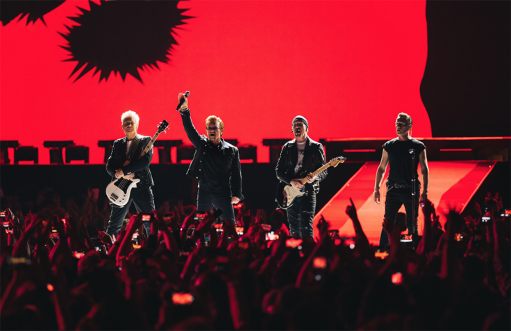 U2 THE JOSHUA TREE TOUR 2017 - Surpasses 2.4 million tickets sold - The biggest show of the year