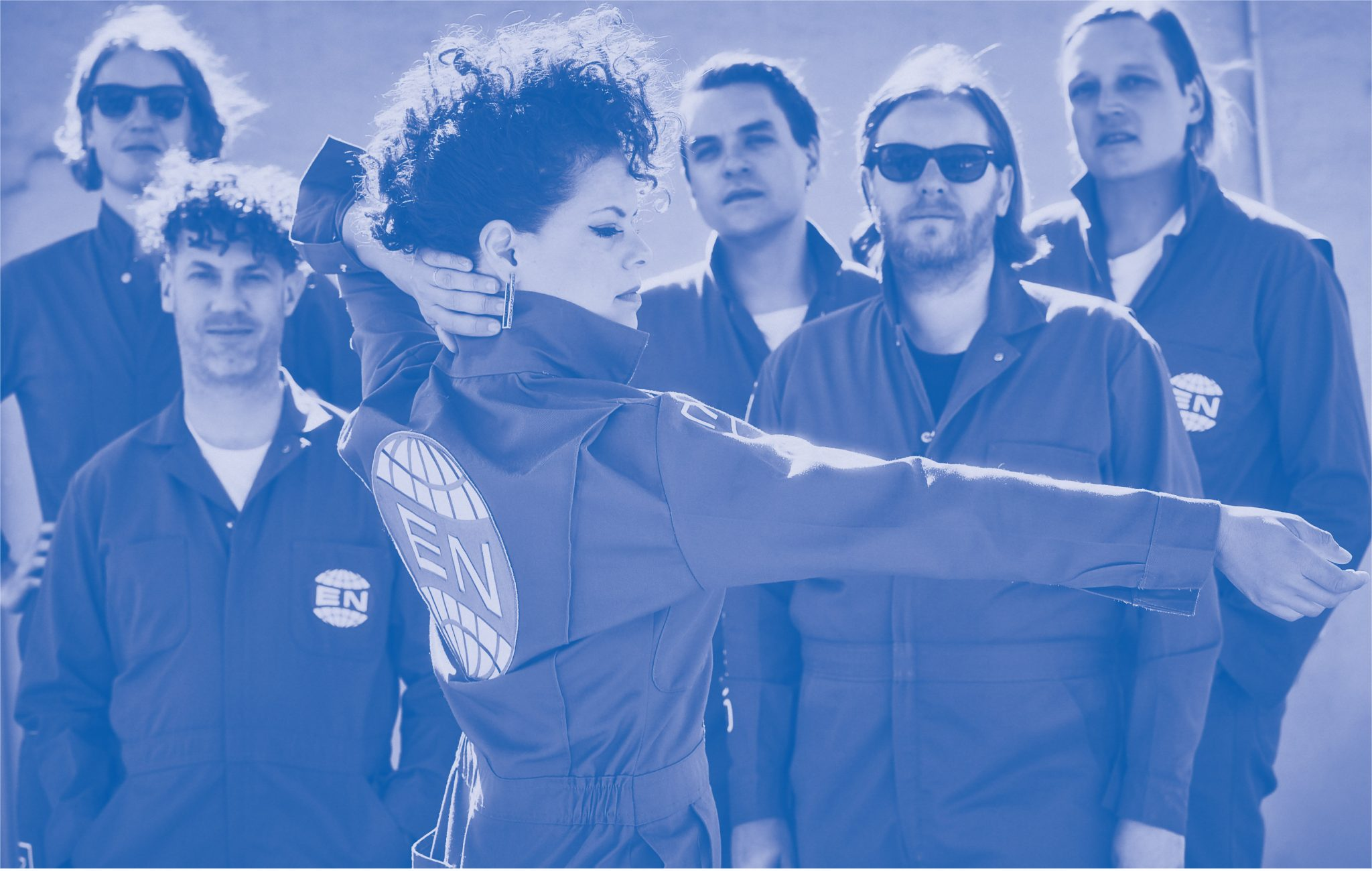 """ARCADE FIRE - Release """"Electric Blue""""—the fourth and final track from the band's forthcoming fifth album, Everything Now"""