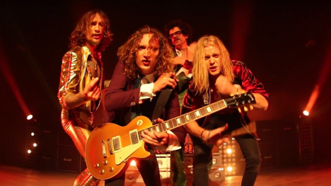THE DARKNESS - Unleash brand new single 'Solid Gold' - Listen