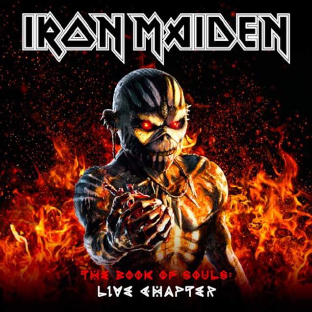 IRON MAIDEN - Announce 'The Book Of Souls' live album 1