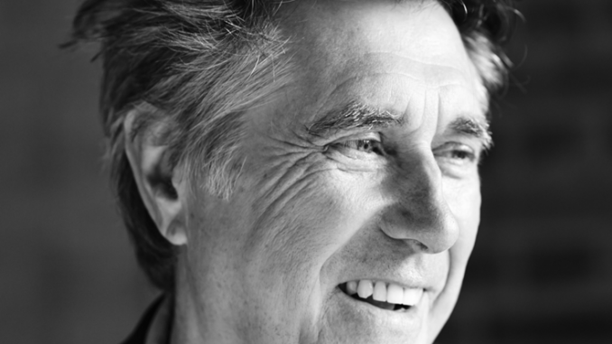 BRYAN FERRY - To Play BELFAST, WATERFRONT - For ONE NIGHT ONLY, APRIL 2018