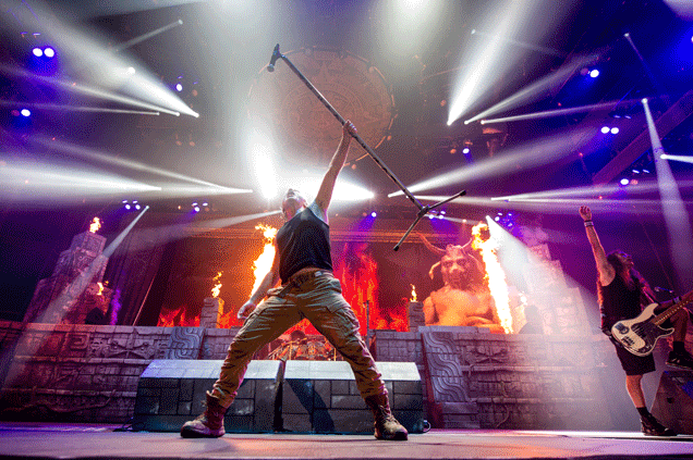 IRON MAIDEN: To Play The SSE Arena, Belfast: 2nd August Belfast