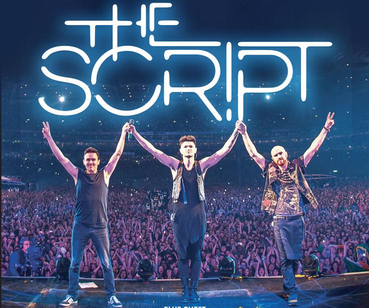 Irish three-piece, The Script to play Belsonic 2018