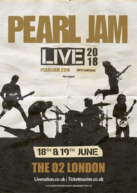 PEARL JAM Announce Summer 2018 European Tour Dates Eddie Vedder