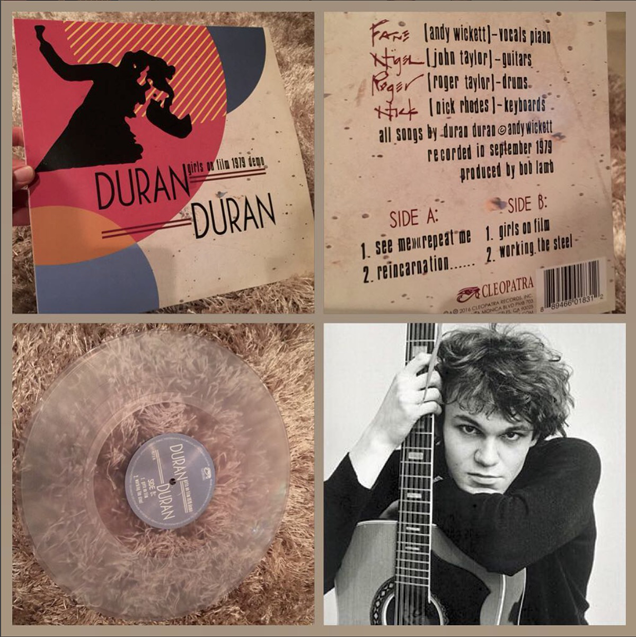 Cleopatra Records releases early Duran Duran 'Girls on Film' demo EP with Andy Wickett Andy Wickett