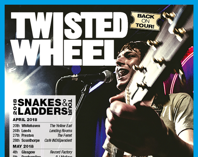 INTERVIEW: Jonny Brown (Twisted Wheel) – 'I've got something to prove, and I'm going to prove it to everyone.' Interview