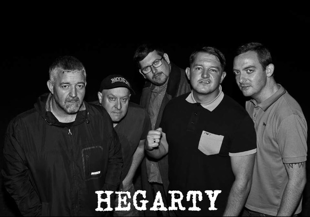 Liverpool, 5 piece band HEGARTY release debut album, 'Selling Your Soul To Sanity' 2
