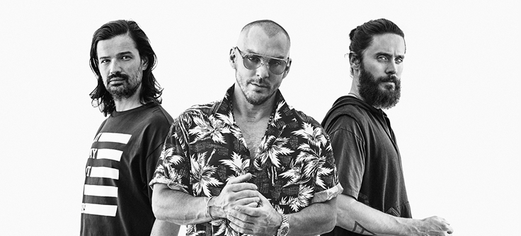 THIRTY SECONDS TO MARS to play The SSE Arena, Belfast on May 29th & 3Arena, Dublin on May 30th