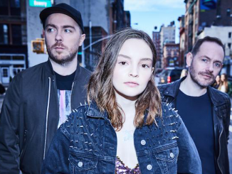 "Scottish electro-pop trio CHVRCHES share new single ""Get Out."""