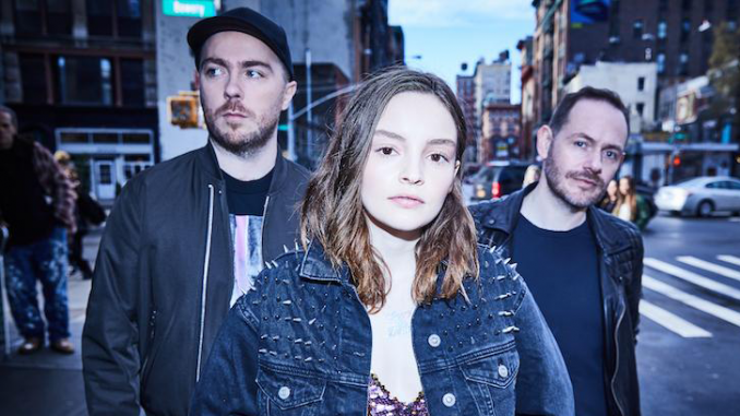 "Scottish electro-pop trio CHVRCHES share new single ""Get Out."