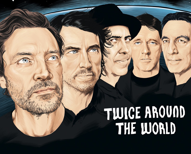 THE STUNNING Announce New Album 'TWICE AROUND THE WORLD' - Out March 16TH