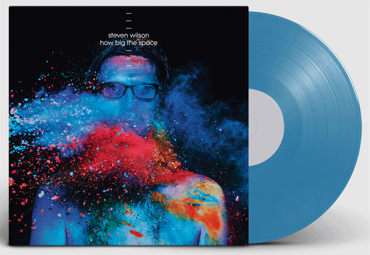 "STEVEN WILSON to release Andy Partridge co-write 'HOW BIG THE SPACE' exclusive 12"" blue vinyl single for RSD"