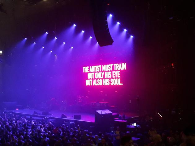 LIVE REVIEW: Manic Street Preachers, Manchester Arena, Sat April 28th James Dean Bradfield