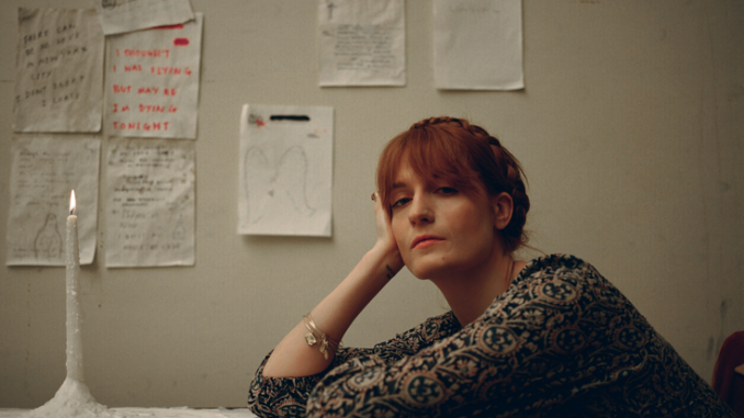 """FLORENCE + THE MACHINE debut """"SKY FULL OF SONG"""" - Watch Now 2"""