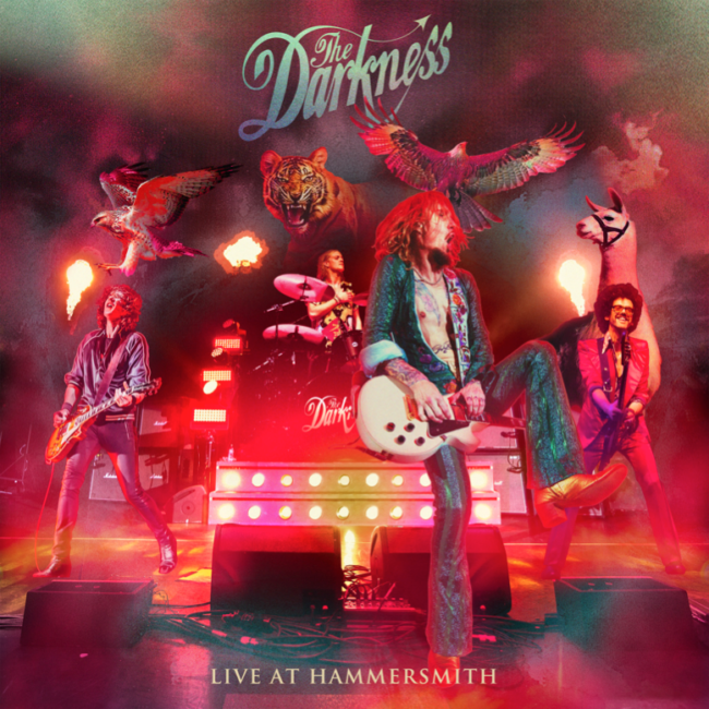 THE DARKNESS announce new live album 'Live At Hammersmith'