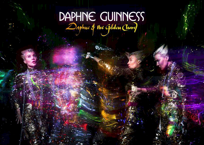 DAPHNE GUINNESS to release her new album 'Daphne & The Golden Chord', April 20th
