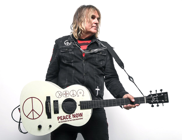 INTERVIEW: Mike Peters of The Alarm on his 24Hr Transatlantic Tour for Record Store Day BILLY DUFFY