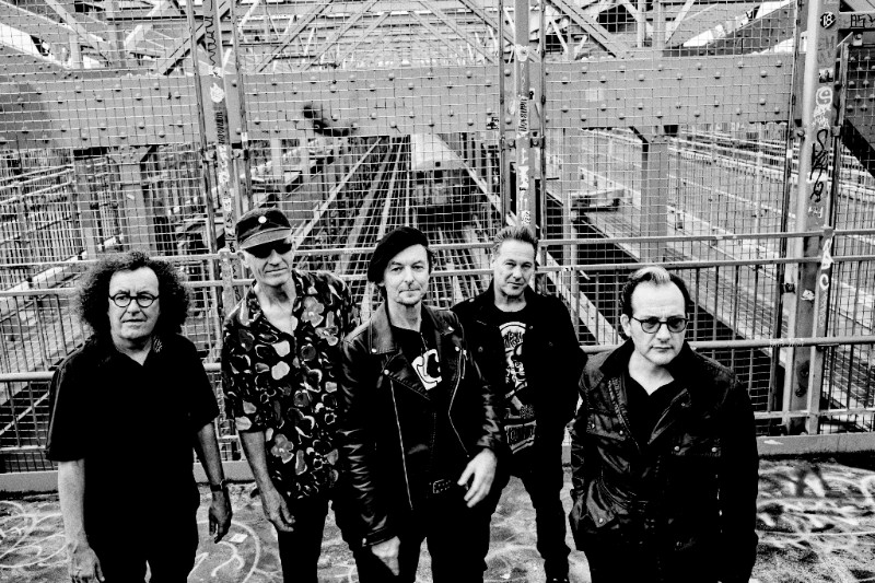 THE DAMNED on track for first UK Top 10 album in 41 years.